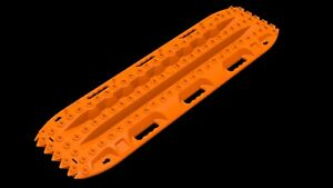 Orange Actiontrax Vehicle Recovery Boards Pair Made In Usa