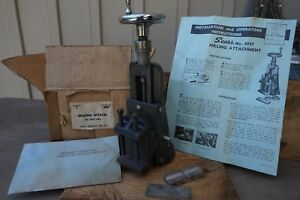 Sears Craftsman No 2057 Milling Attachment For 6 101 Lathe New Old Stock Nice