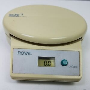 Scale Royal Postal Exacta Ex1 Digital Shipping Weighs Up To 2 Pounds Vintage