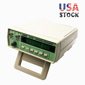 Vc3165 Radio Frequency Counter Rf Meter 0 01hz 2 4ghz Tester Cymometer Usa