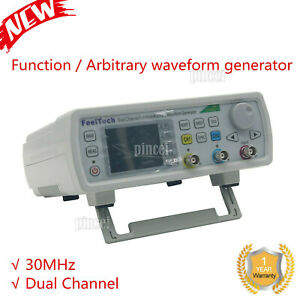Fy6600 30m Feeltech Dds Dual Channel Function Arbitrary Waveform Generator Usa