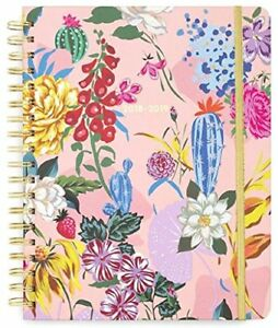Ban do 13 Month Large Daily Planner 2018 2019 Garden Party Planners Organizers