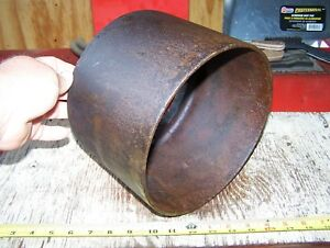 Old New Way Cast Iron Belt Pulley Hit Miss Gas Engine Magneto Steam Tractor Nice