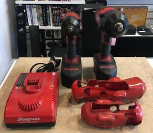 Snap on 18v 3 8 impact Drill Ct4418 18v 1 2 Impact Wrench Ct6818