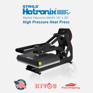 Stahls Hotronix Maxx Clam Heat Press Maxx11 120 11 X 15