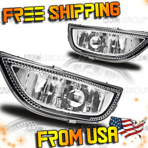 Fits 2001 2002 Toyota Corolla Clear Fog Light