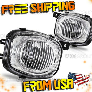 Fits 2000 2002 Mitsubishi Eclipse Clear Oe replacement Fog Light
