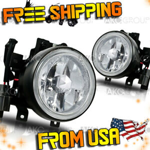 Fits 2003 2006 Honda Element Clear Fog Light Wiring Kit Included