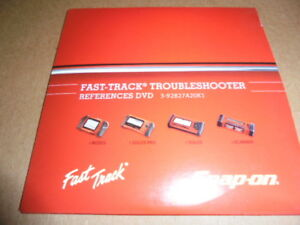 Snap On Fast Track Troubleshooter Dvd 3 92827a20k1 Modis Solus Solus Pro Mt2500