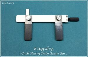 Kingsley Machine 7 Heavy Duty Gauge Bar Hot Foil Stamping Machine