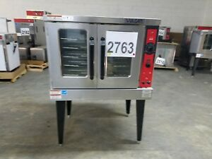 2763 Use S d Vulcan Vc5ed Series Electric Convection Oven model vc5ed 12d1