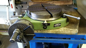 Walter Rtl 250 Tg Rotary Table 10 With Indexer
