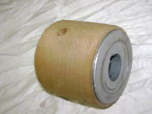 Flat Belt Paper Pulley 2 1 2 Od X 2 1 2 Face X 1 2 5 8 3 4 7 8 1 1 1 8 Bore