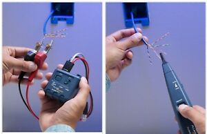 Tone Generator And Probe Wire Test Toner Industrial Electric Wire Circuits Tool