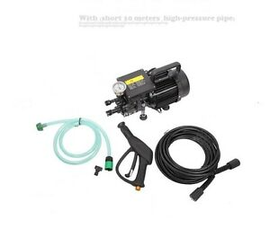 New Ac220v High Pressure Washer Electric Water Cleaner Pump 10m Pipe