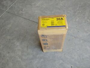 Square D H361n 30 Amp 600 Volt 3 Phase Nema 1 Disconnect F Series New