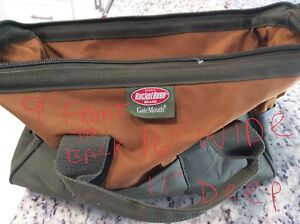 Snap On Side Cutters Blow Gun Gate Mouth Tool Bag