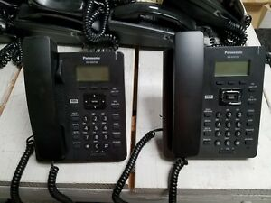 Panasonic Kxhdv130 Sip Telephones Lot Of 2