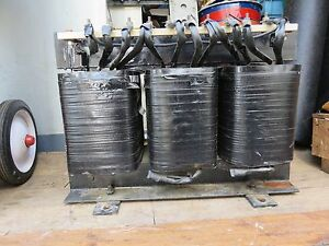 Power Magnetics 35 kva 3 ph Transformer 480 X 240 D See Plate For Further Detail