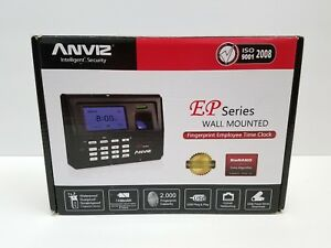 Anviz Ep300 Fingerprint Time Attendance Nob Read