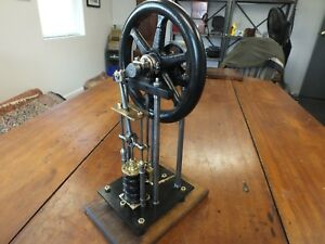 Antique Vertical Steam Engine Mid 1800s