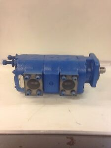 Parker Hydraulic Commercial Tandem Gear Pump
