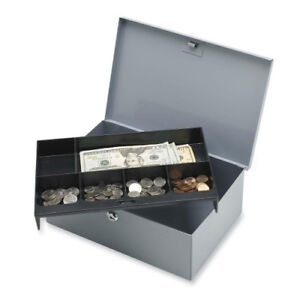 Sparco All Steel 6 compartment Tray Cash Box 15503
