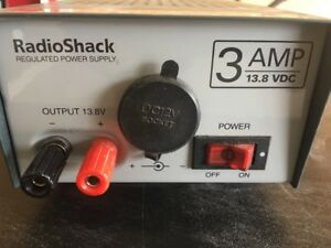Radio Shack Regulated Power Supply 3 Amp 13 8 Vdc Cat No 22 504