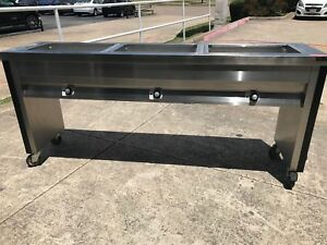 Caddy 3 Well Steam Table Slim Line Tf 613
