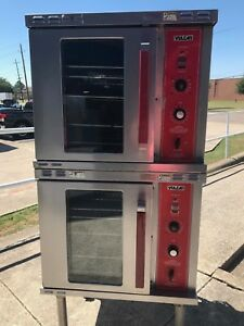 Vulcan Half Size Double Stack Convection Oven