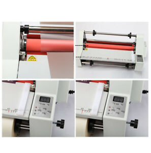 17 Hot Cold Roll Laminator Single dual Sided Laminating Machine Industry Tool