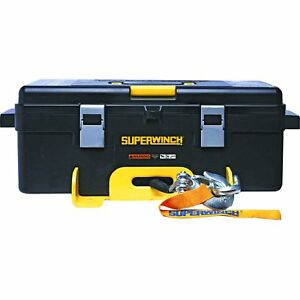 Superwinch 1140222 Winch2go Portable Winch 4000 Lbs Weight Capacity Wire Rope