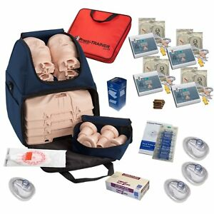 Cpr Training Kit W Prestan Ultralite Manikins Wnl Aed Trainers More By Mcr
