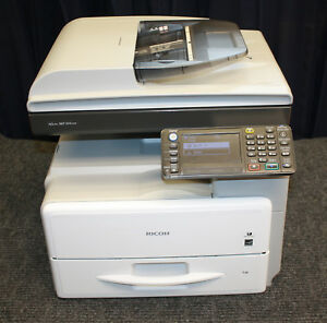 Black And White Copier Ricoh Mp301spf Refurbished With New Drum mint Condition