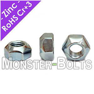 Hex Cone Prevailing Torque Lock Nuts Stover Din 980v Zinc Class 10 M6 M8 M10 M12