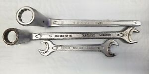 Mercedes Benz Heyco Combo Offset Wrench 19mm 17mm 13mm