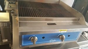 Globe Gcbr24g 24 Gas Charbroiler Grill