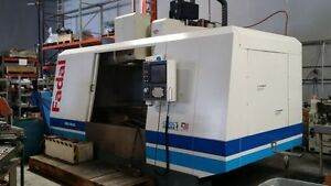 2004 Fadal 6535 50 Cnc Vertical Machining Center W 4th Axis Tooling 50 Taper