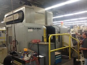 Mitsui Seiki Vs5a ds Cnc Dual Spindle Vertical Machining Center