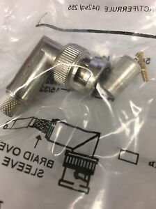 Amphenol P n 413588 9 Coaxial Connectors Qty 20 Brand New