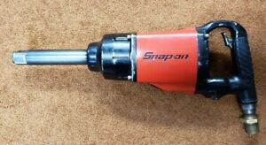 Snap On Extended Anvil Air Impact Wrench 1 Drive Im1800 Tested