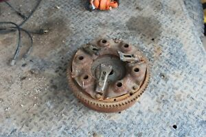 Tractor International Farmall Super C Parting Out Flywheel Clutch Plate