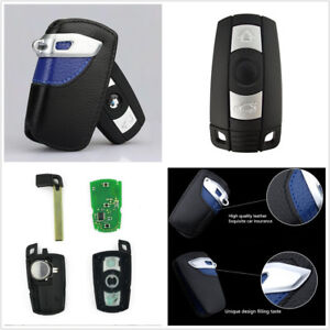 Smart Remote Key Fob Replacement 315mhz Uncut Blade W Bag For Bmw 1 3 5 7 Series