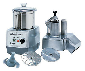 Robot Coupe R6n Food Processor w attachments