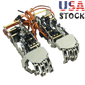 5dof Humanoid Metal Manipulator Arm Left right Hand a0090 Servos For Robot Usa