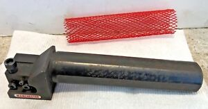 Manchester 203 341 Rh Face Grooving Boring Bar 1 5 Round Shank Machinist Tool