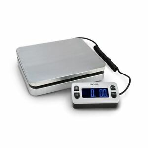 Royal Shipping Postal Scale 110 Lb Capacity Shipping Box Weight Stainless Steel