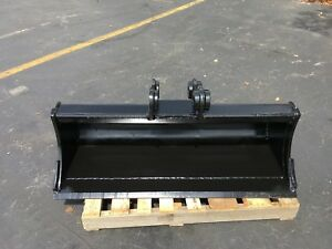 New 48 Case Cx57c Heavy Duty Ditch Cleaning Bucket