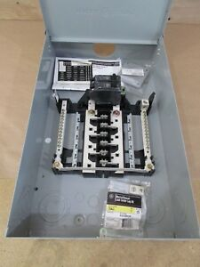 Ge Tm1210rcu Main Breaker Outdoor Load Center 100 Amp 12 1 Spaces