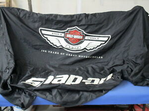 100th Anniversary Harley Davidson Snap On Special Edition Tool Box Cover